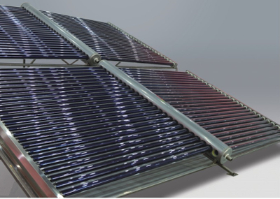 Project industrial evacuated tube Solar Water Heater