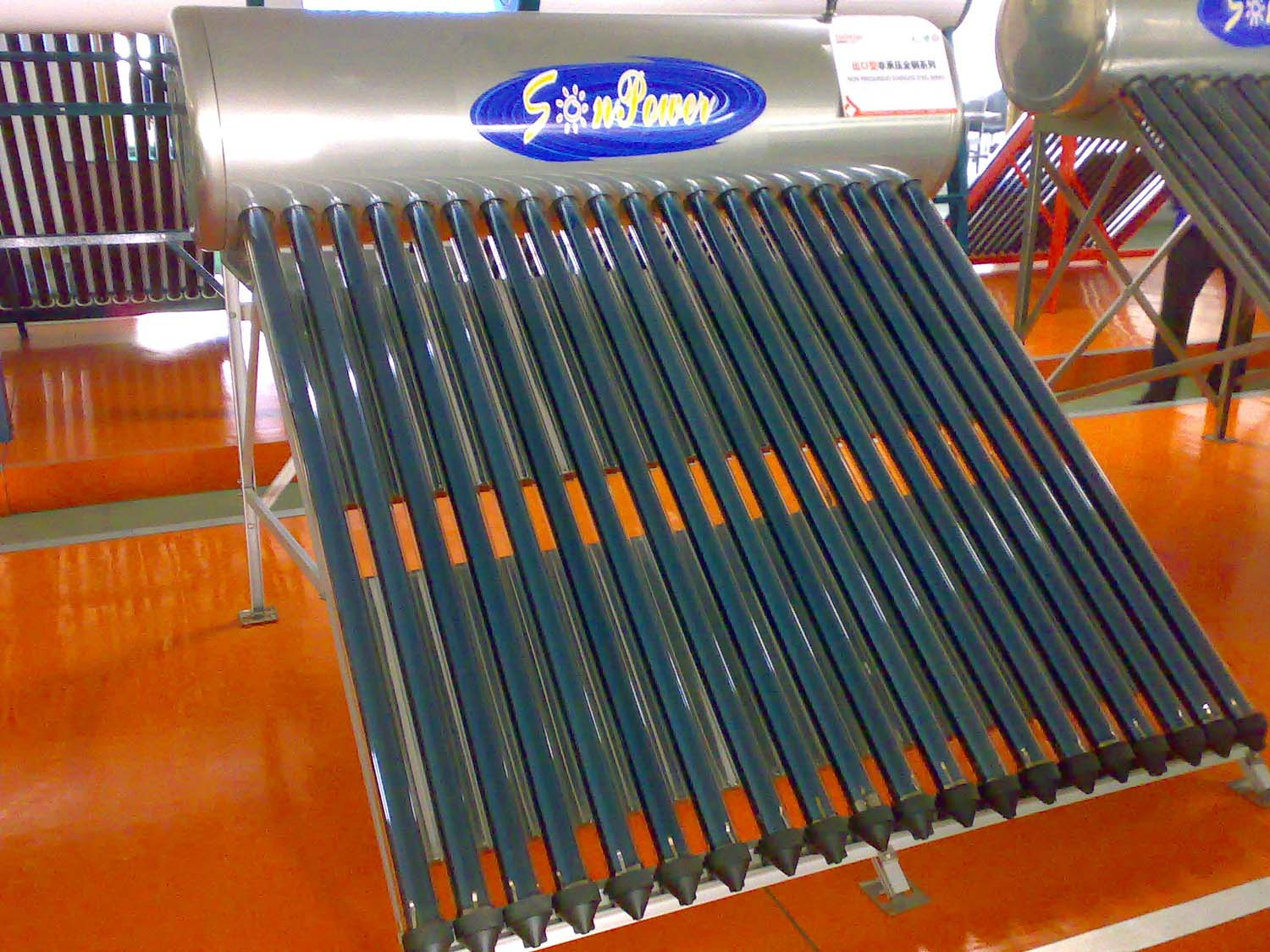 Stainless Steel Solar Water Heater (SPC)