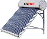 powerful Compact Low Pressure Solar Water Heater