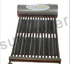 Non Pressurized Stainless Steel vacuum tube Solar Water Heater