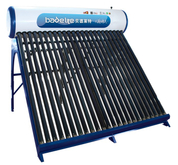 Galvanized Steel non pressurized compact Solar Water Heater