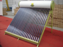 green non pressurized heat pipe Solar Water Heater