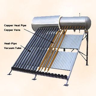 Small Compact Pressurized Solar Water Heater