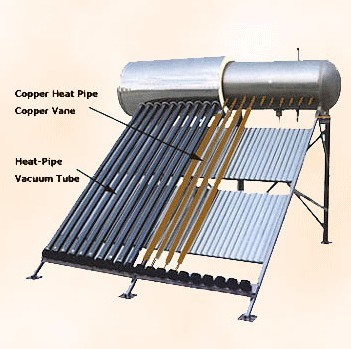 powerful pressurized commercial solar water heater