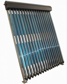 Closed Loop Pressurized Heat Pipe Solar Water Heater