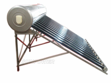 100L non pressurized vacuum tube Solar Water Heater