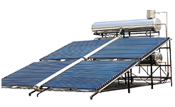 Project industrial vacuum tube Solar Water Heater