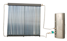 Low Pressure Residential Heat Pipe Solar Water Heater
