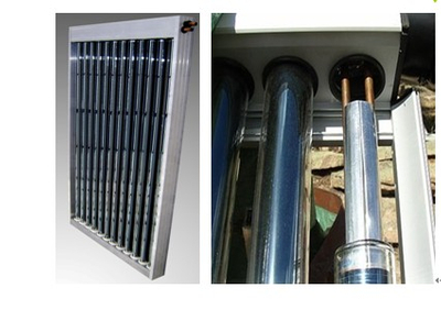 Commercial Low Pressure Glass U pipe Solar collector