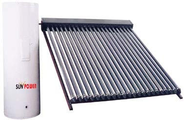 200L High Pressure heat pipe solar water heater