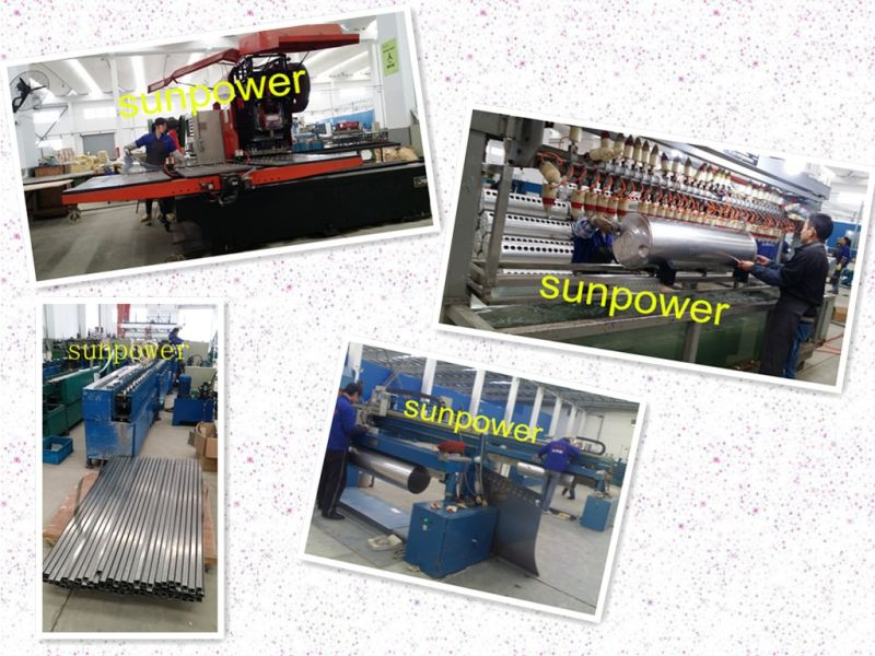 Color Steel Low Pressure Solar Water Heater