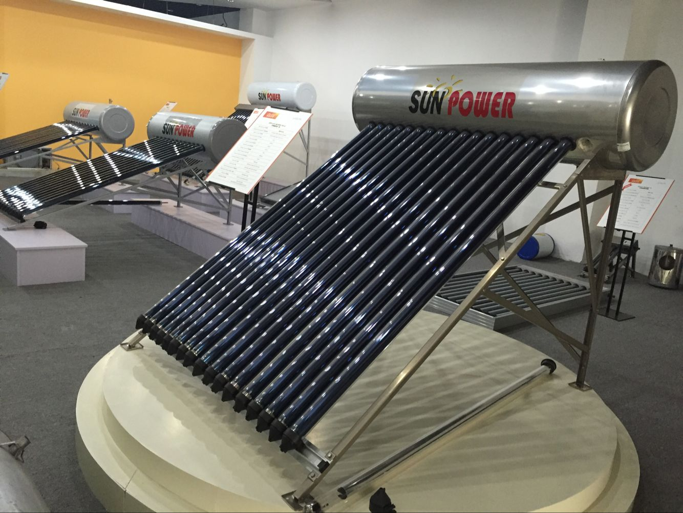250L Compact Pressurized Solar Water Heater