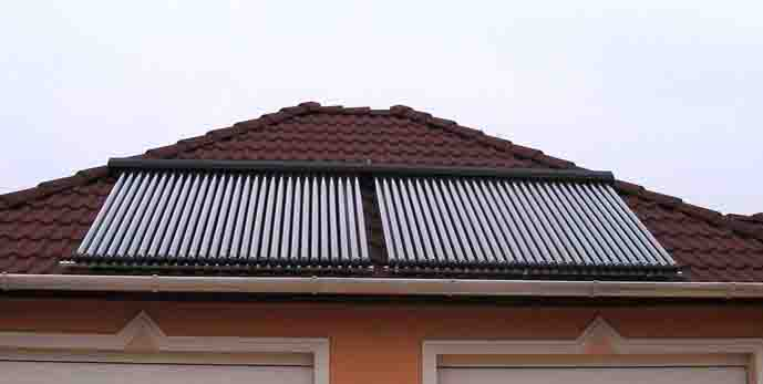 Collector Evacuated Tube Heat Pipe Solar Water Heater