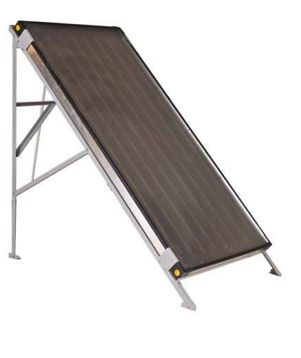 Black Chrome Flat Solar Collector