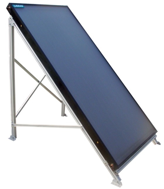 Vacuum Heat Pipe Flat Solar Collector Panel 1 X 2m