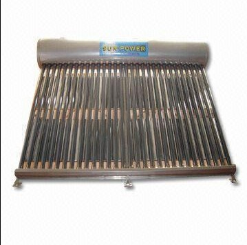Non-Pressure glass vacuum tube Solar Water Heater