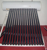 Cheap Compact heat pipe Solar Water Heater