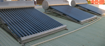 Non-Pressure Solar Water Heater CE Approved