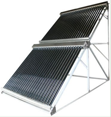 Integrated Residential Heat Pipe Solar Water Heater